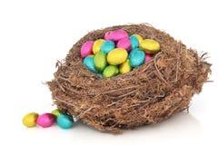 Het Nest van het Paasei royalty-vrije stock fotografie