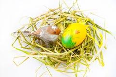 Het nest van Pasen Royalty-vrije Stock Foto