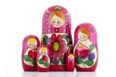 Het Nestelen van Babushka Doll Royalty-vrije Stock Foto's