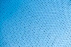 Het net op duidelijke blauwe hemelachtergrond Royalty-vrije Stock Foto