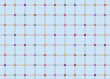 Het net van de diamant Stock Foto