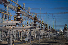 Het Net van de elektriciteit Royalty-vrije Stock Afbeelding