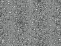 Het net van de elektronika stock illustratie