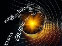 Het Net van de technologie Stock Foto