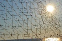 Het net van de visserij Stock Afbeelding