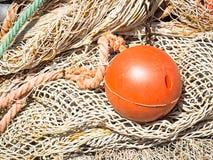 Het net van de visserij Stock Afbeeldingen