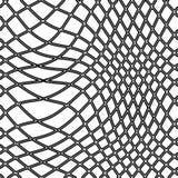 Het net van de visserij stock illustratie