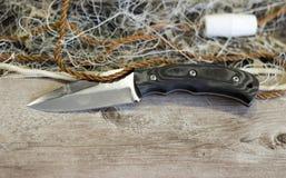 Het Net van de visserij met Vlotters stock foto's