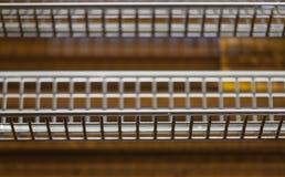 Het net van het metaal Stock Afbeeldingen