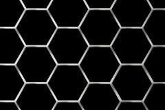 Het Net van het metaal Stock Afbeelding
