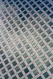 Het net van vensters, Bureau of Collectieve Bulding   Stock Afbeelding