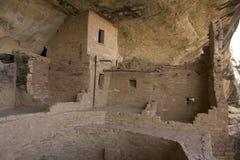 Het nette Huis van de Boom in het Nationale Park van Mesa Verde Stock Afbeeldingen