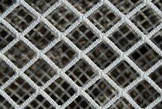 Het netto patroon van het hockey Stock Afbeelding