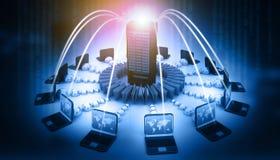 Het Netwerk van de computer Stock Afbeeldingen