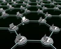Het netwerk van de computer. Royalty-vrije Stock Afbeelding