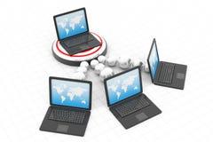 Het Netwerk van de computer Royalty-vrije Stock Foto's