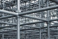 Het Netwerk van de Pijp van het staal Stock Foto's
