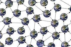 Het netwerk van de wereld Royalty-vrije Stock Fotografie