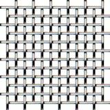 Het netwerk van het metaal Naadloos patroon Achtergrond textuur Stock Foto's