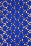 Het netwerk van het roestvrij staal Stock Foto