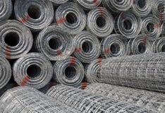 Het netwerk van het staal Stock Foto's