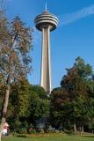 Het Niagara Falls van de Toren van Skylon Stock Fotografie
