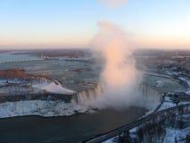 Het Niagara Falls van de winter Stock Afbeelding