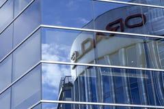 Het nieuwe bureau van Oracle nt in vilnius Stock Foto