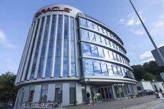 Het nieuwe bureau van Oracle nt in vilnius Stock Afbeeldingen