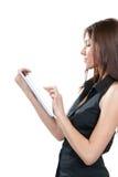 Het nieuwe elektronische stootkussen van de tabletaanraking Stock Fotografie