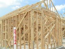 Het nieuwe Frame van het Huis Stock Afbeelding