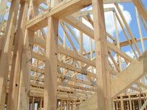 Het nieuwe Frame van het Huis Stock Foto