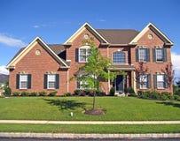 Het Nieuwe Huis van Upscale stock foto