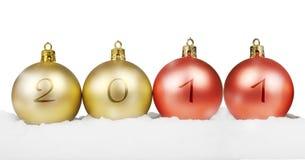 Het nieuwe jaar 2011 van het concept Royalty-vrije Stock Afbeeldingen