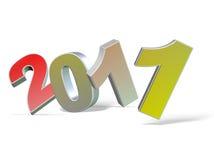 het nieuwe jaar van 2011 Stock Foto