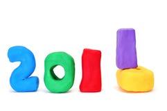 het nieuwe jaar van 2011 Stock Fotografie