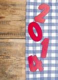 het nieuwe jaar van 2014 Stock Afbeelding