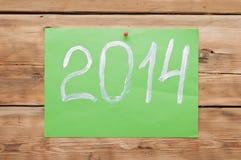 het nieuwe jaar van 2014 Royalty-vrije Stock Foto's