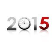Het nieuwe Jaar van 2015 Royalty-vrije Stock Afbeeldingen