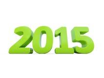 Het nieuwe Jaar van 2015 Stock Afbeelding