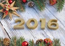 het nieuwe jaar van 2016 Royalty-vrije Stock Foto's