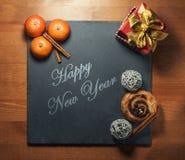 Het nieuwe jaar van 2017 Stock Foto