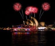 Het nieuwe jaar van het operahuis Stock Fotografie