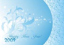 Het nieuwe jaar van het ornament Stock Afbeelding