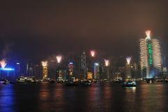 Het nieuwe jaar van Hongkong Stock Fotografie