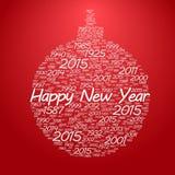 Het nieuwe jaar van Kerstmistoy happy Stock Fotografie