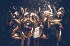 Het nieuwe Jaar van 2017 komt! Royalty-vrije Stock Afbeelding