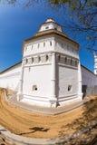 Het Nieuwe Jeruzalem Klooster van torenvoskresensky stock foto