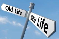 Het nieuwe leven royalty-vrije stock afbeeldingen