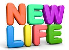 Het nieuwe leven stock illustratie